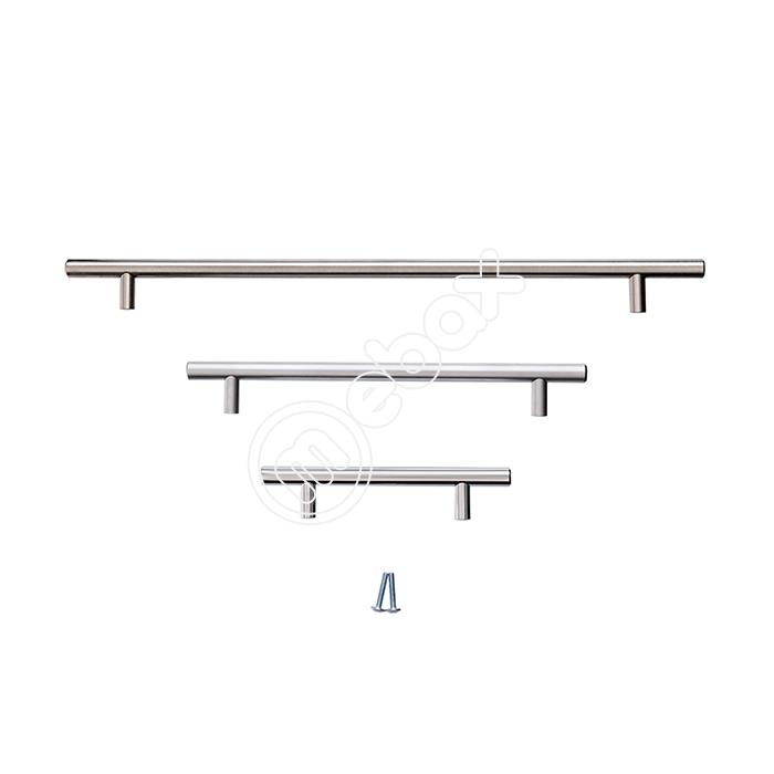 Ручки-рейлинги для мебели в современном стиле хай-тек от Mebax