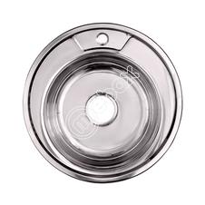 Мойка диаметра 510 мм из нержавеющей стали от производителя - компания Мебакс, Москва