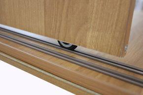 Установка стопора на двери шкафа-купе